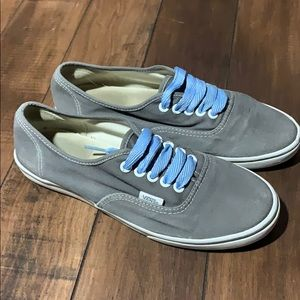 Women's gray Vans Sneakers